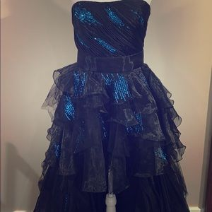 Prom Dress with ruffles flirt Maggie Sotero size 8